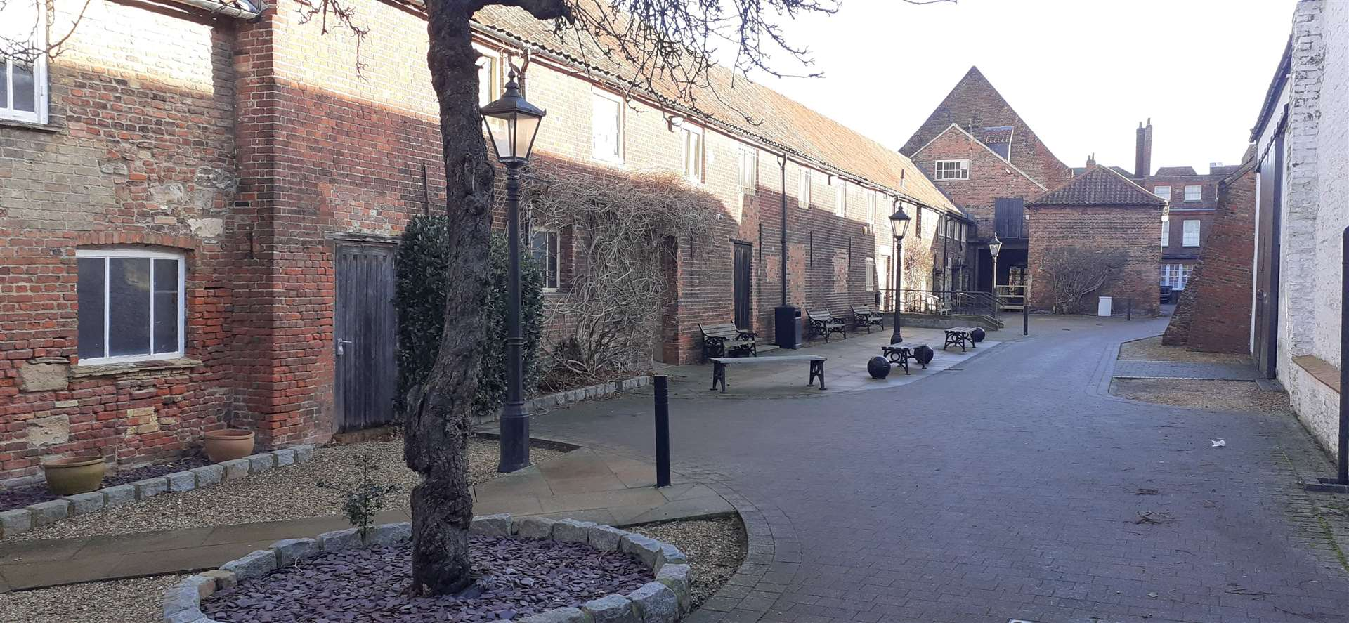 The courtyard at St George's Guildhall in King Street, Lynn (44354547)