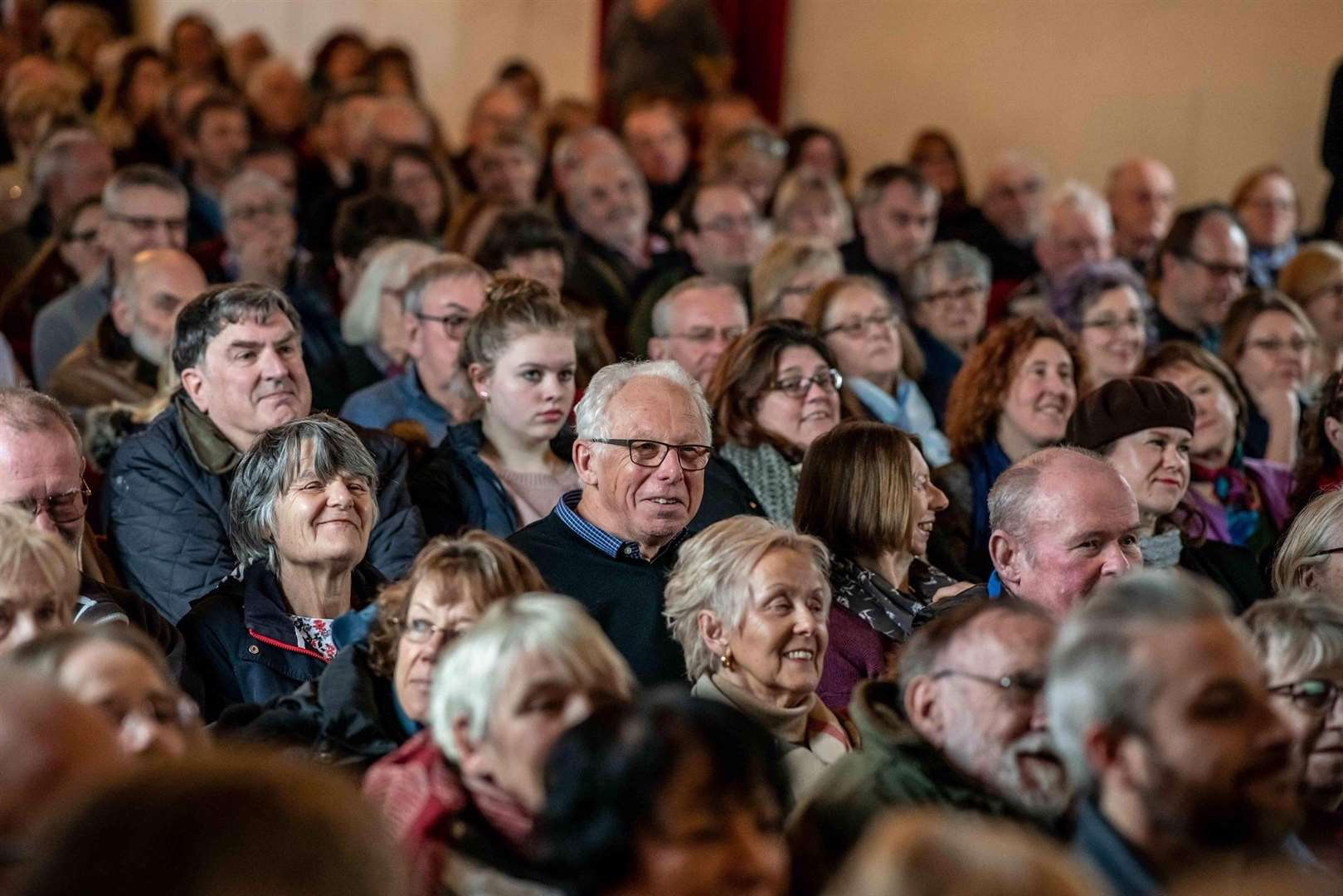 It is all about the audience experience at the St George's Guildhall in Lynn, say the SGT. (44354630)