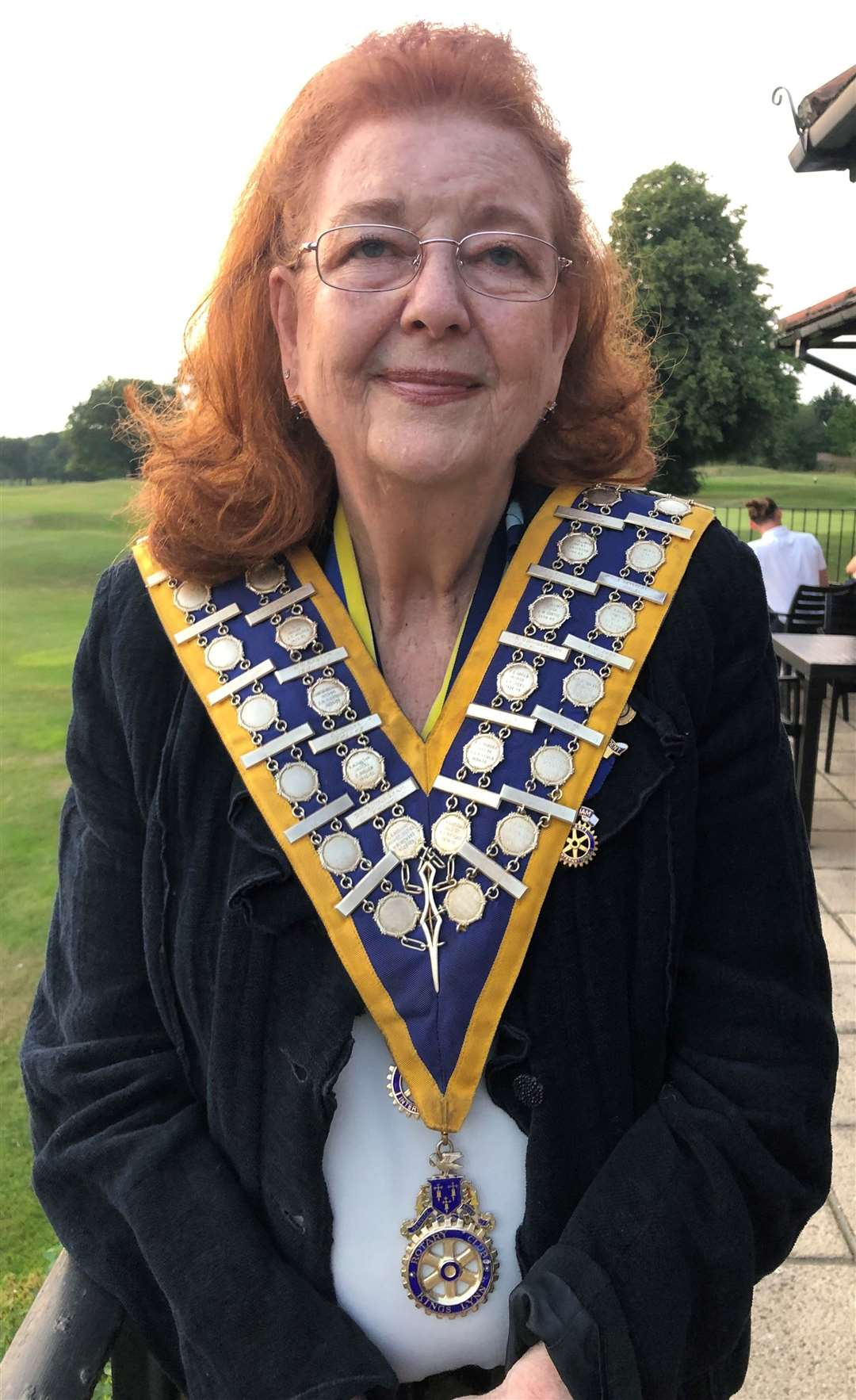 Dorothy Pulsford-Harris becomes the new president of the Rotary Club of King's Lynn (49665441)