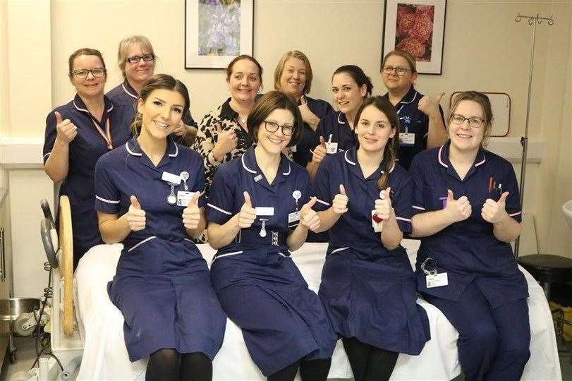 The Queen Elizabeth Hospital charitable fund for a new Maternity Bereavement Suite which is the Lynn News Charity of the Year 2020 (44292907)