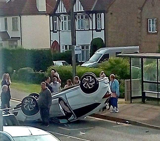 Accident on Wootton Road, King's Lynn
