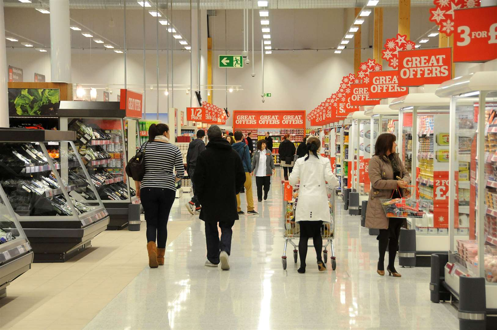 The problem is believed to be affecting stores nationwide