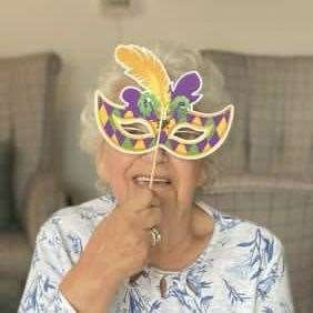 King's Lynn residential care home enjoy a masked carnival afternoon (49478447)