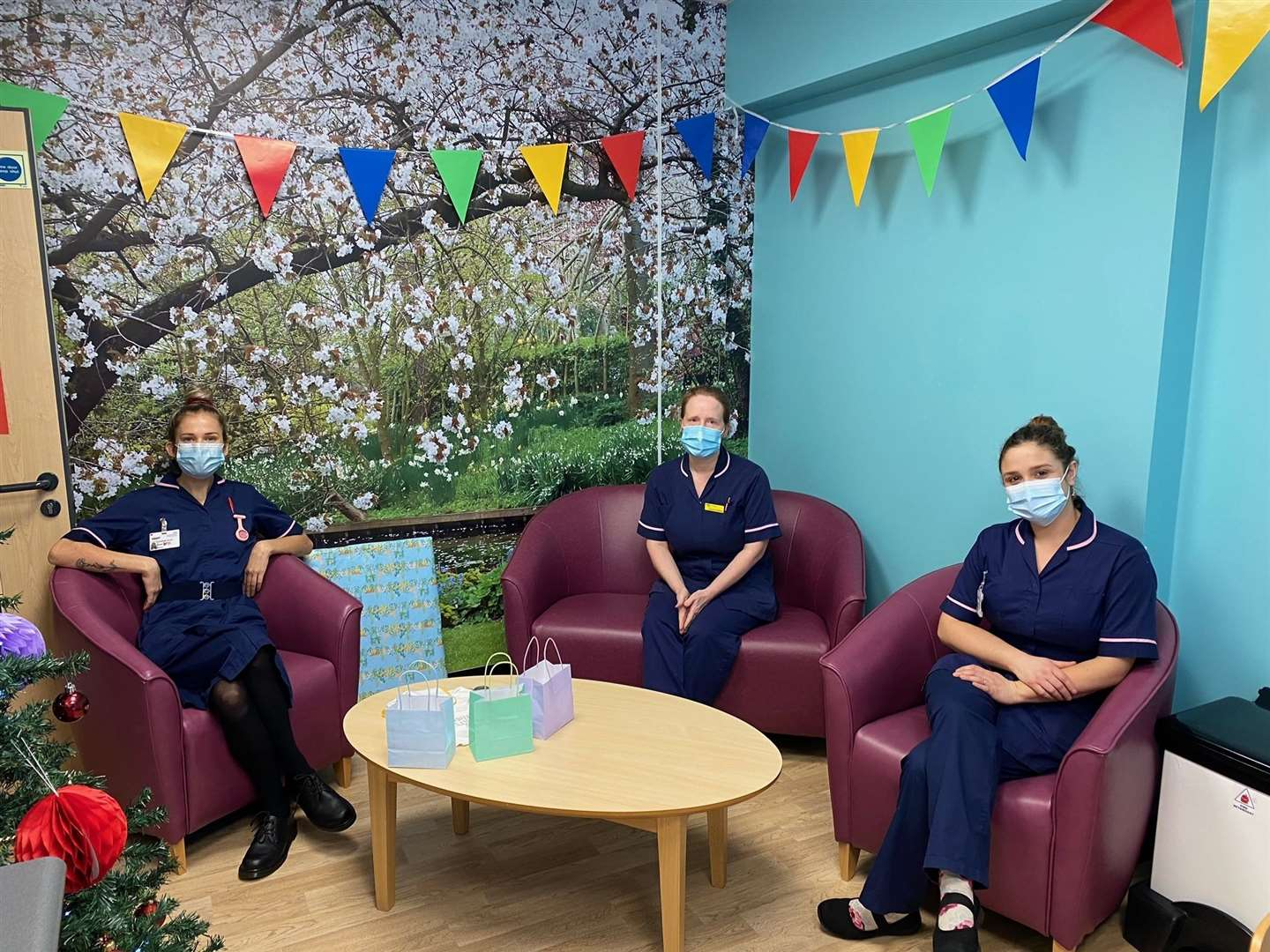 The fifth birthday of the Waterlily Unit was celebrated this week. Picture: QEH