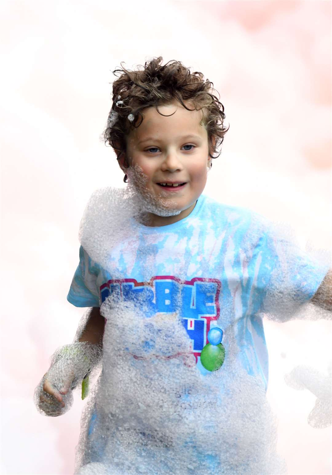 Bubble Rush at The Walks in Kings Lynn. MLNF-21AF09587
