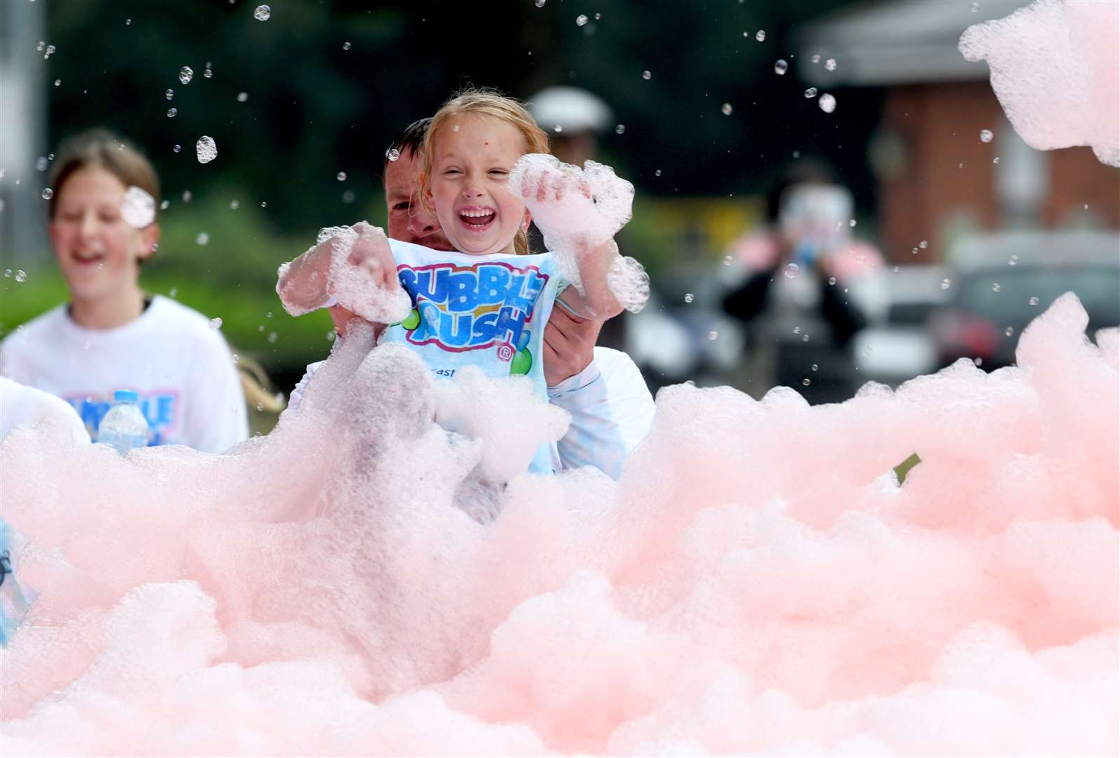 Bubble Rush at The Walks in Kings Lynn. MLNF-21AF09591