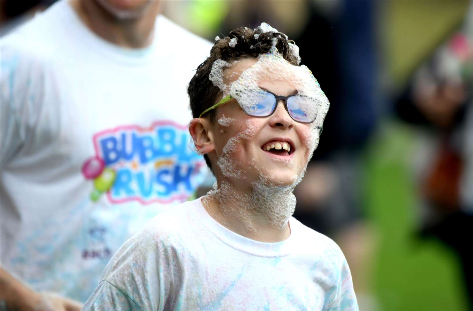 Bubble Rush at The Walks in Kings Lynn. MLNF-21AF09592