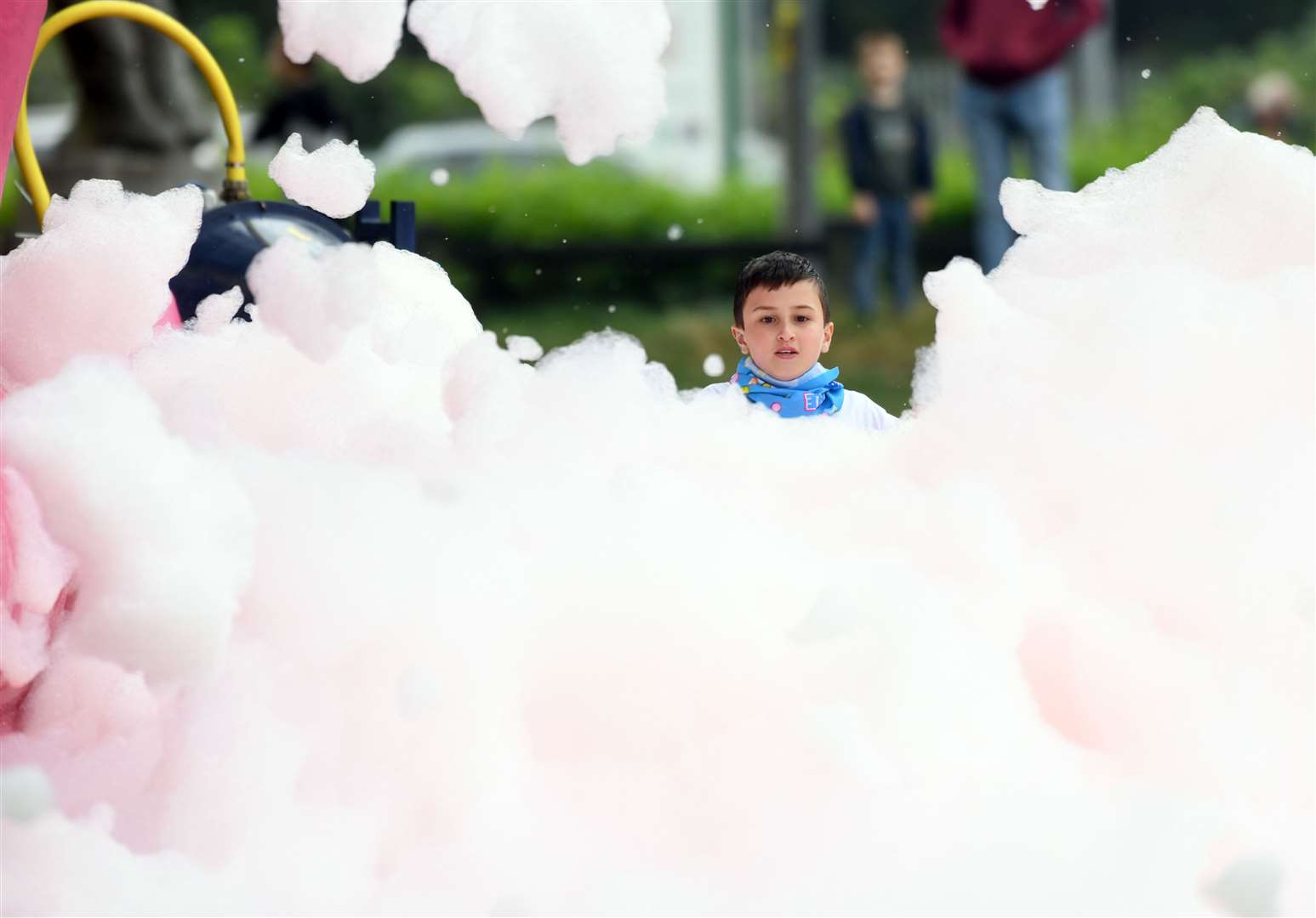 Bubble Rush at The Walks in Kings Lynn. MLNF-21AF09595