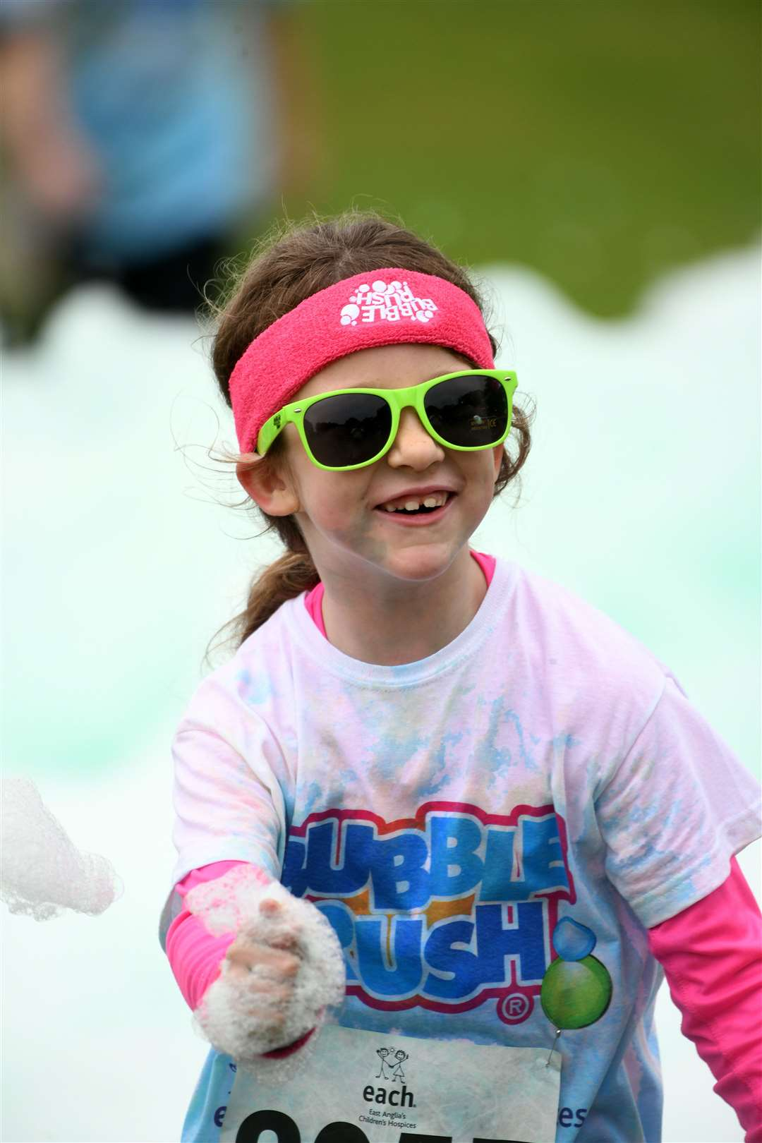 Bubble Rush at The Walks in Kings Lynn. MLNF-21AF09602