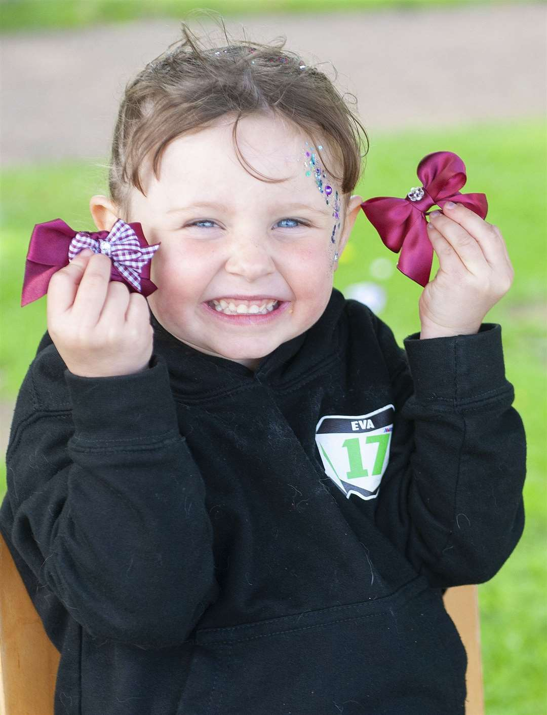 Fairstead Communtity Shop Fun-Day Fete. Pictured (Four Year Old) Eva Ford..MLNF-21MF080162