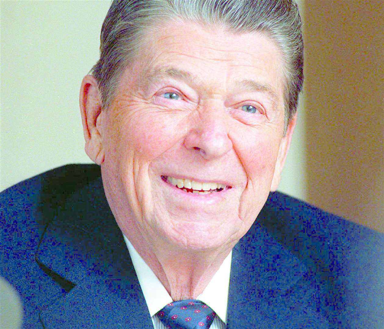 Former President Ronald Reagan launched Ice Cream Day