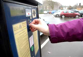 Council chiefs reject call for free parking offer in town