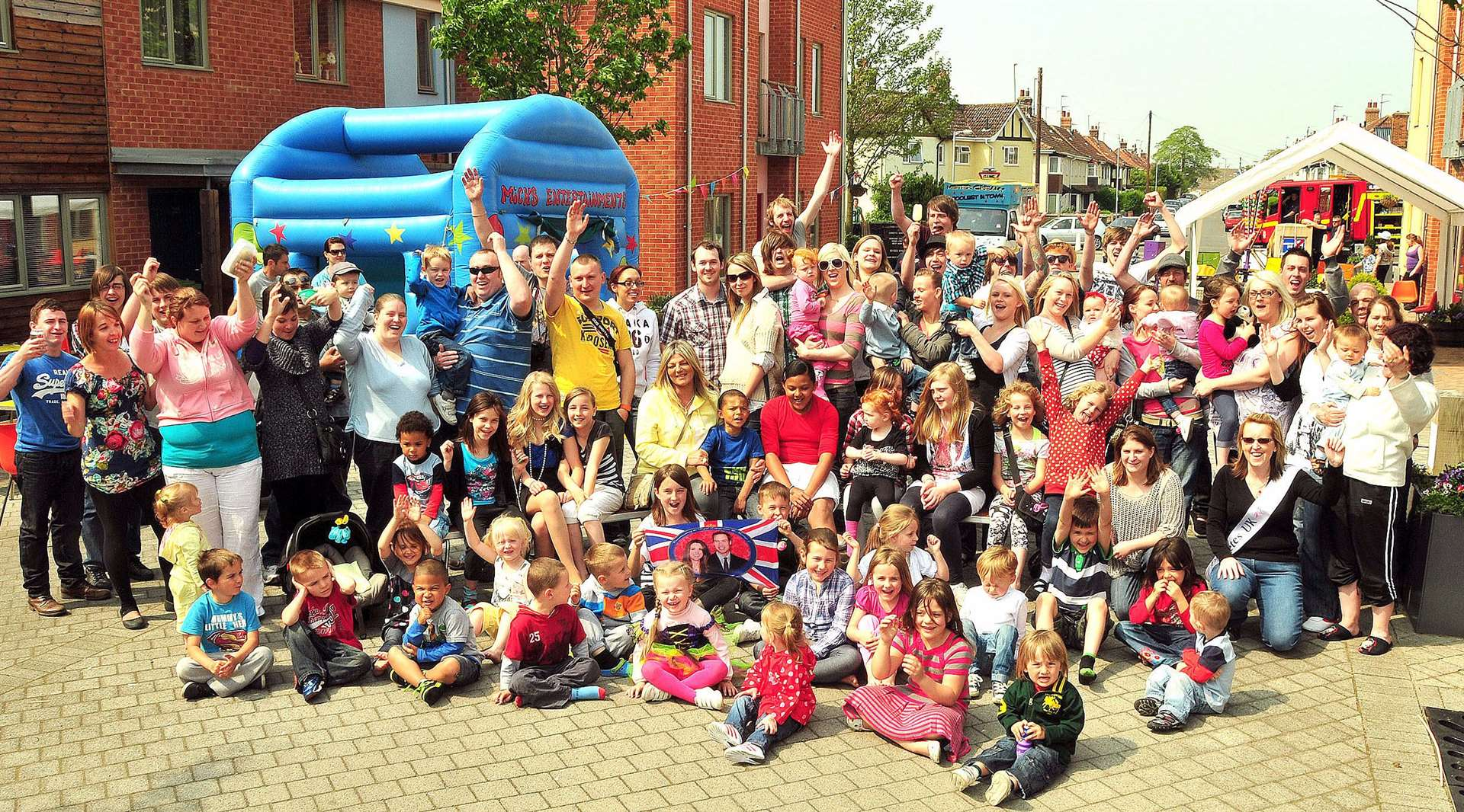 Royal Wedding street party in Portway, Yours South Lynn community to celebrate the wedding of Prince William and Catherine Middleton. (46651454)