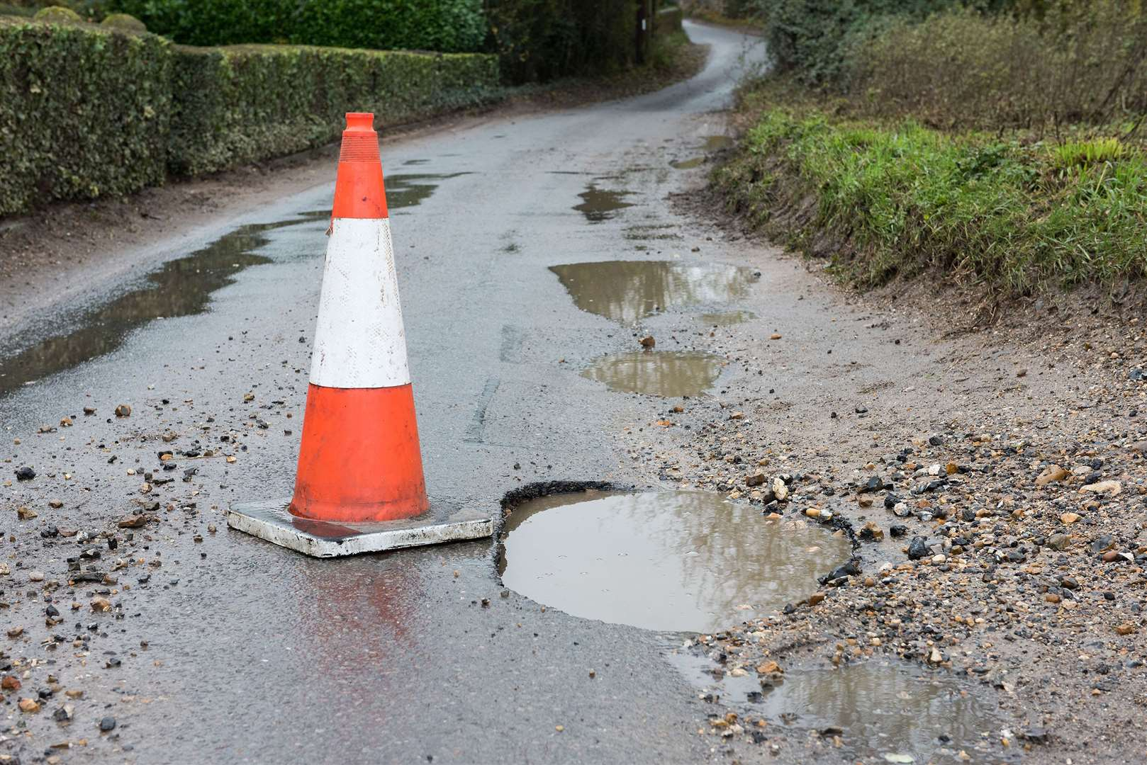 Drones and 3D printing could help solve the misery of potholes for motorists