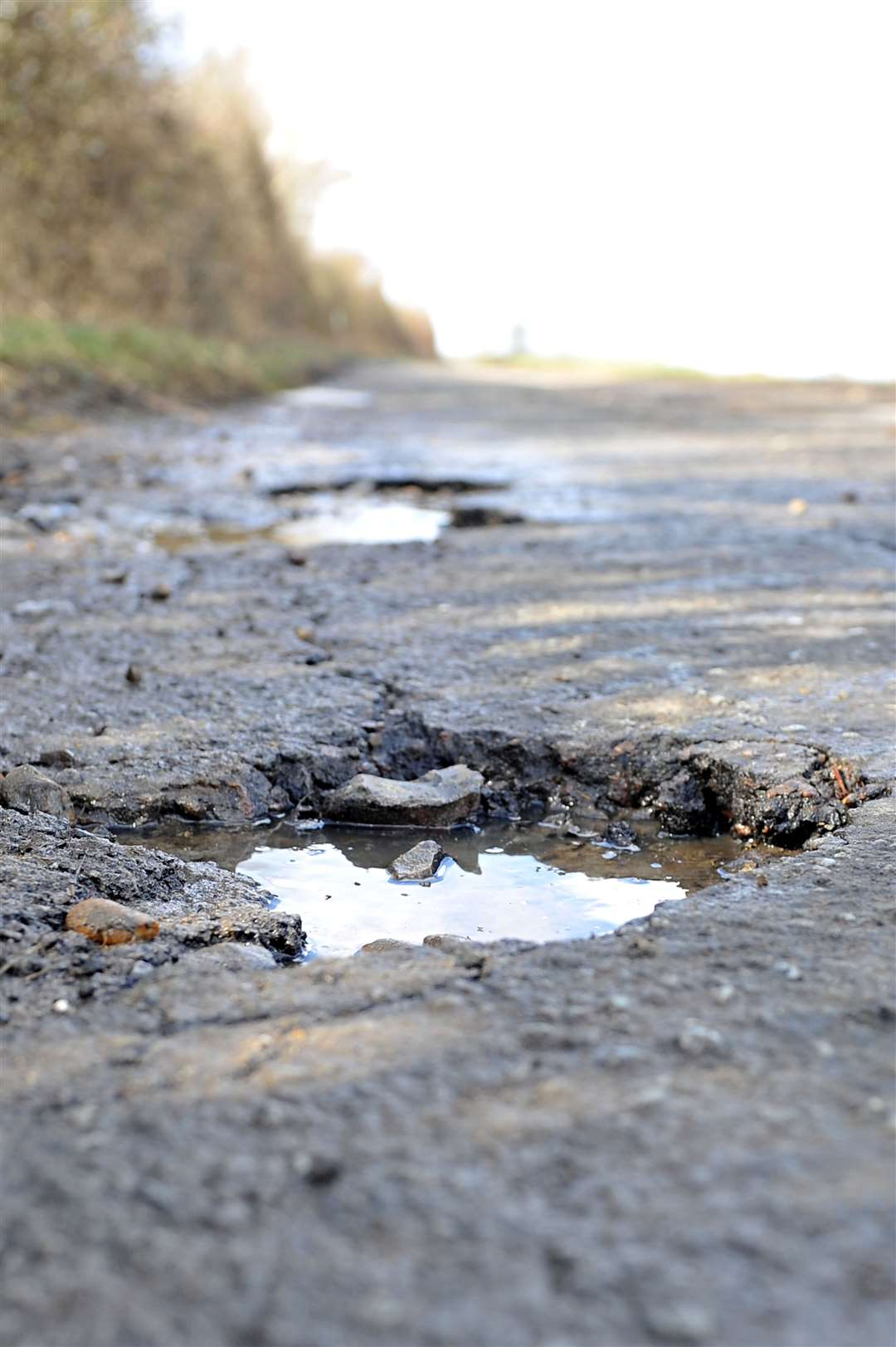 A report by the Asphalt Industry Alliance suggested it would cost £10 billion over a decade to bring all roads up to scratch