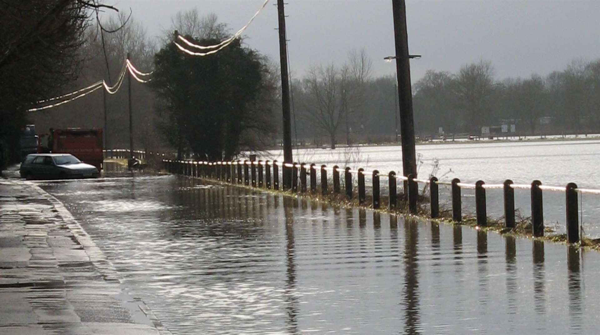 Alerts could be used to raise the alarm during times of dangerous flooding