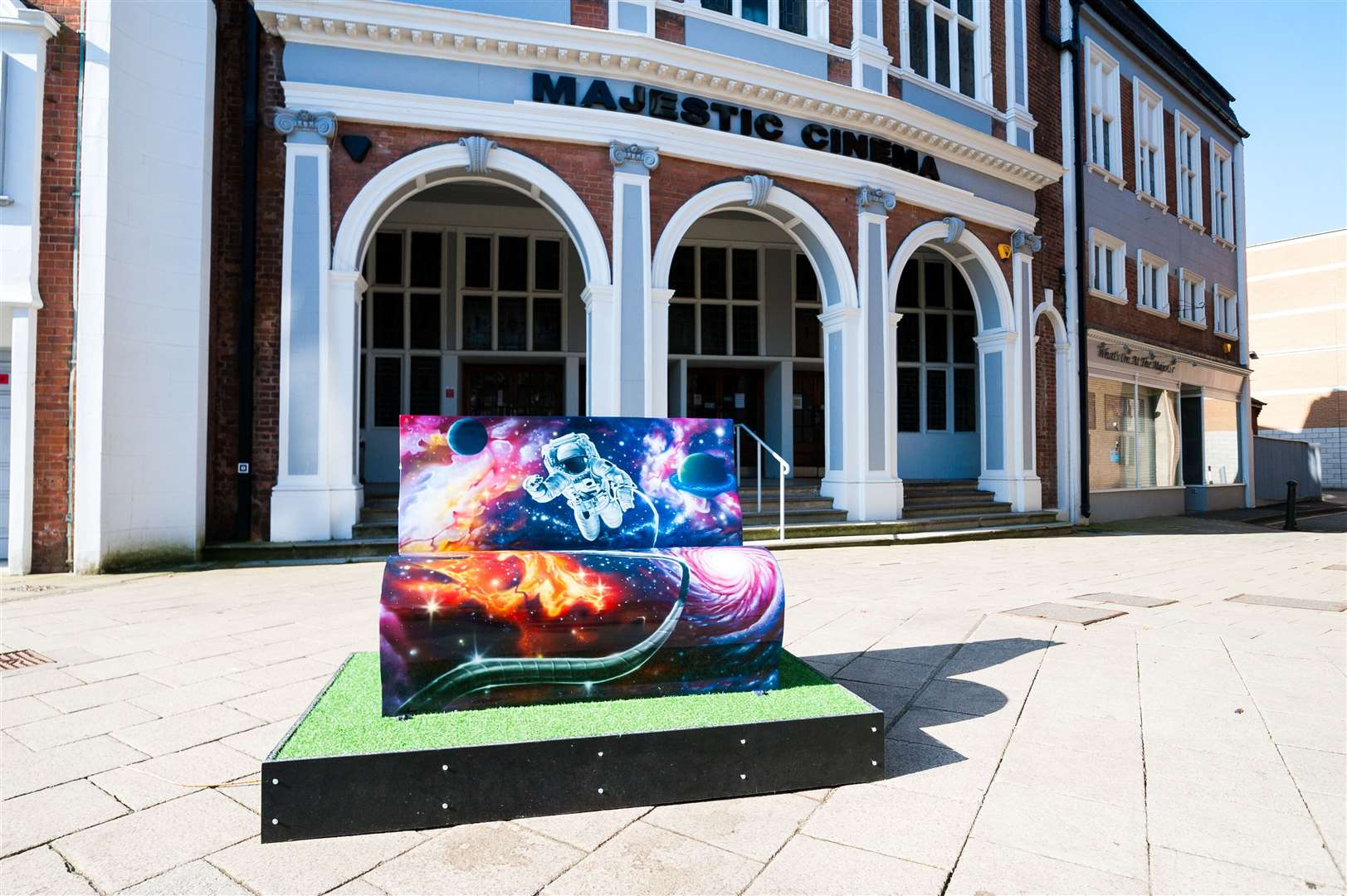 The official launch of the Explore-a-book, a brand new book bench trail, in West Norfolk.. (45668912)