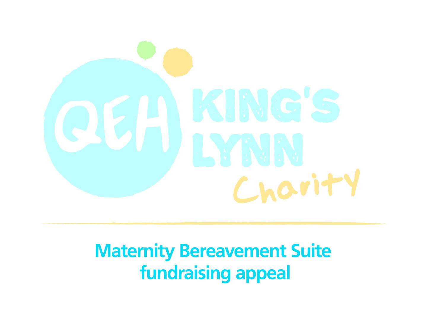 Lynn News Charity of the Year 2020 - QEH Maternity Bereavement Suite logo