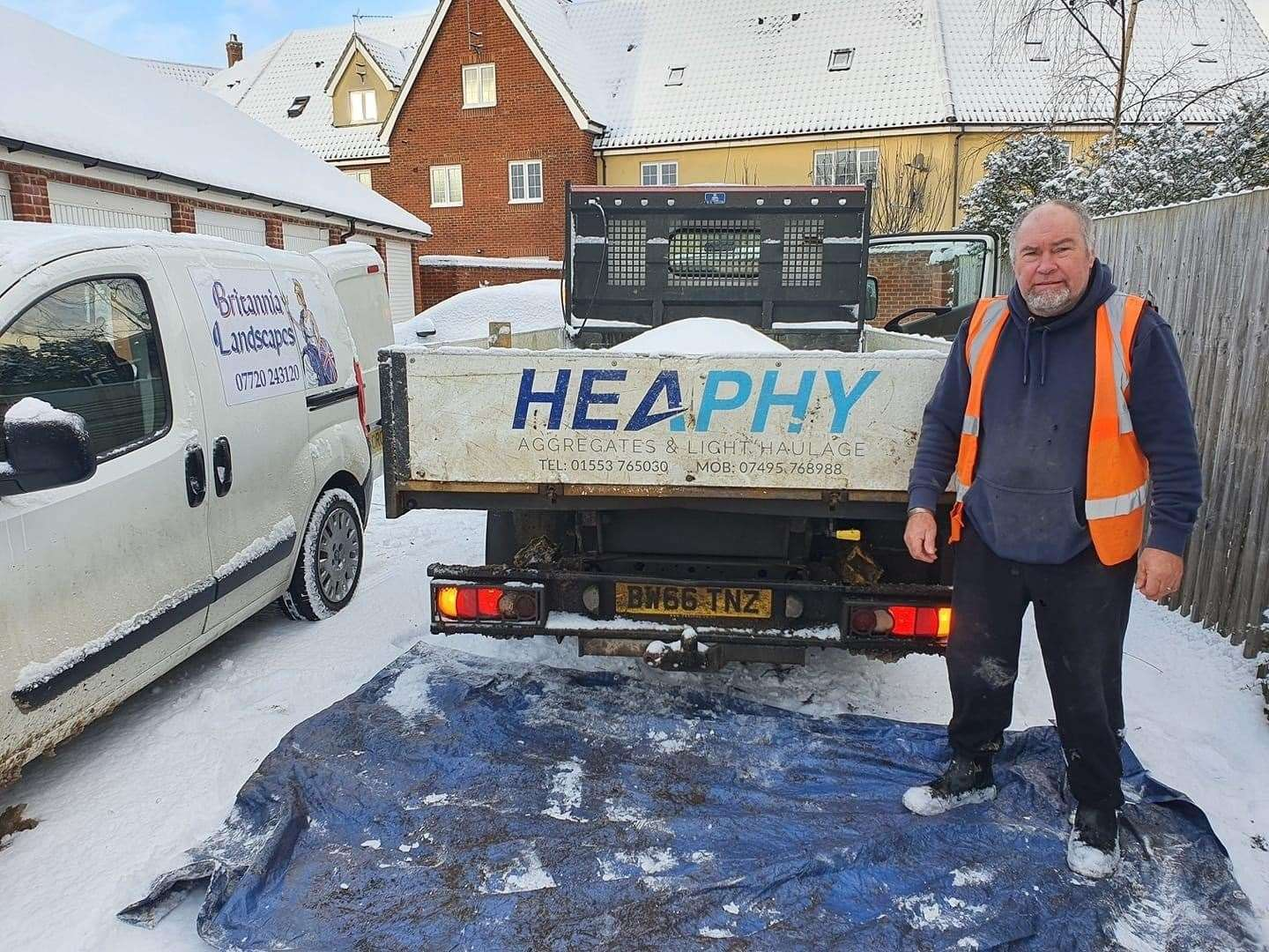 Michael Heaphy of Heaphy Aggregates and Light Haulage. (44366750)