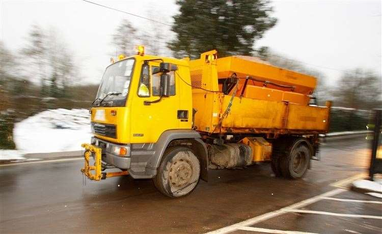 Roads could be left covered in dangerous snow and ice this winter due to a shortage of gritter drivers (Chris Ison/PA) (52135535)