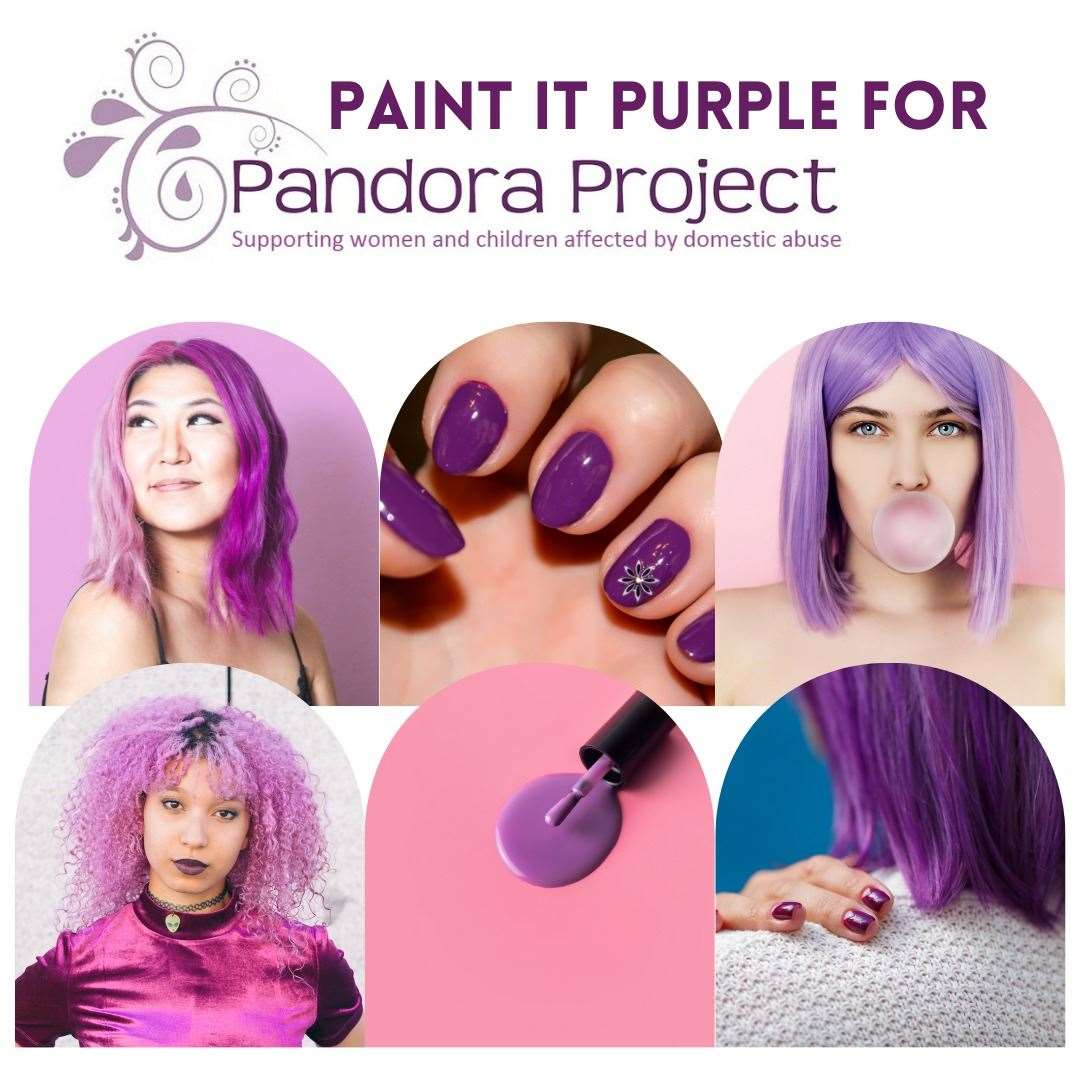 Pandora Project's Paint it Purple campaign is throughout September (49662598)