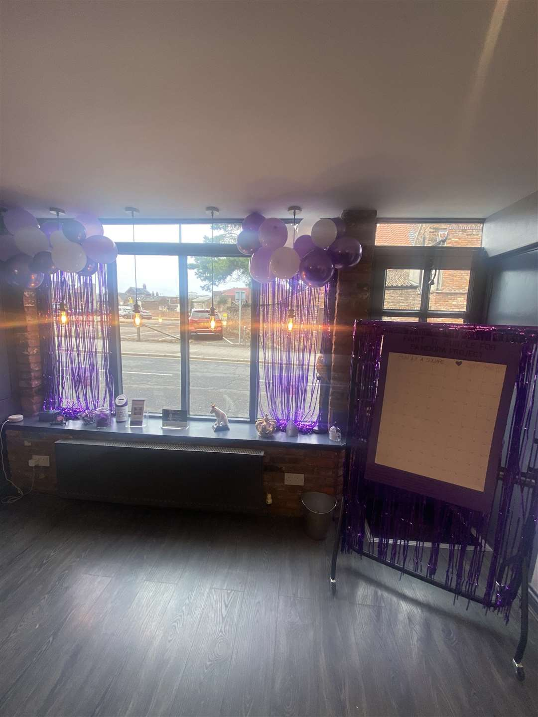 Purfleet Studio hair and beauty salon are painting it purple this September in support of Pandora Project. (50799069)