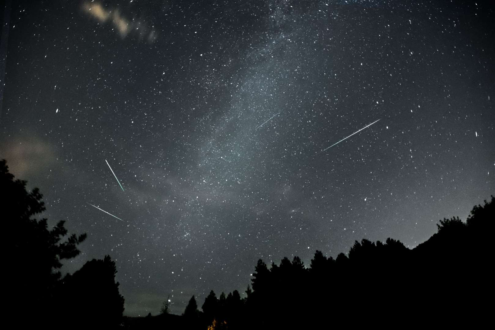 The Perseid meteor shower began in late July and is expected to peak around August 12