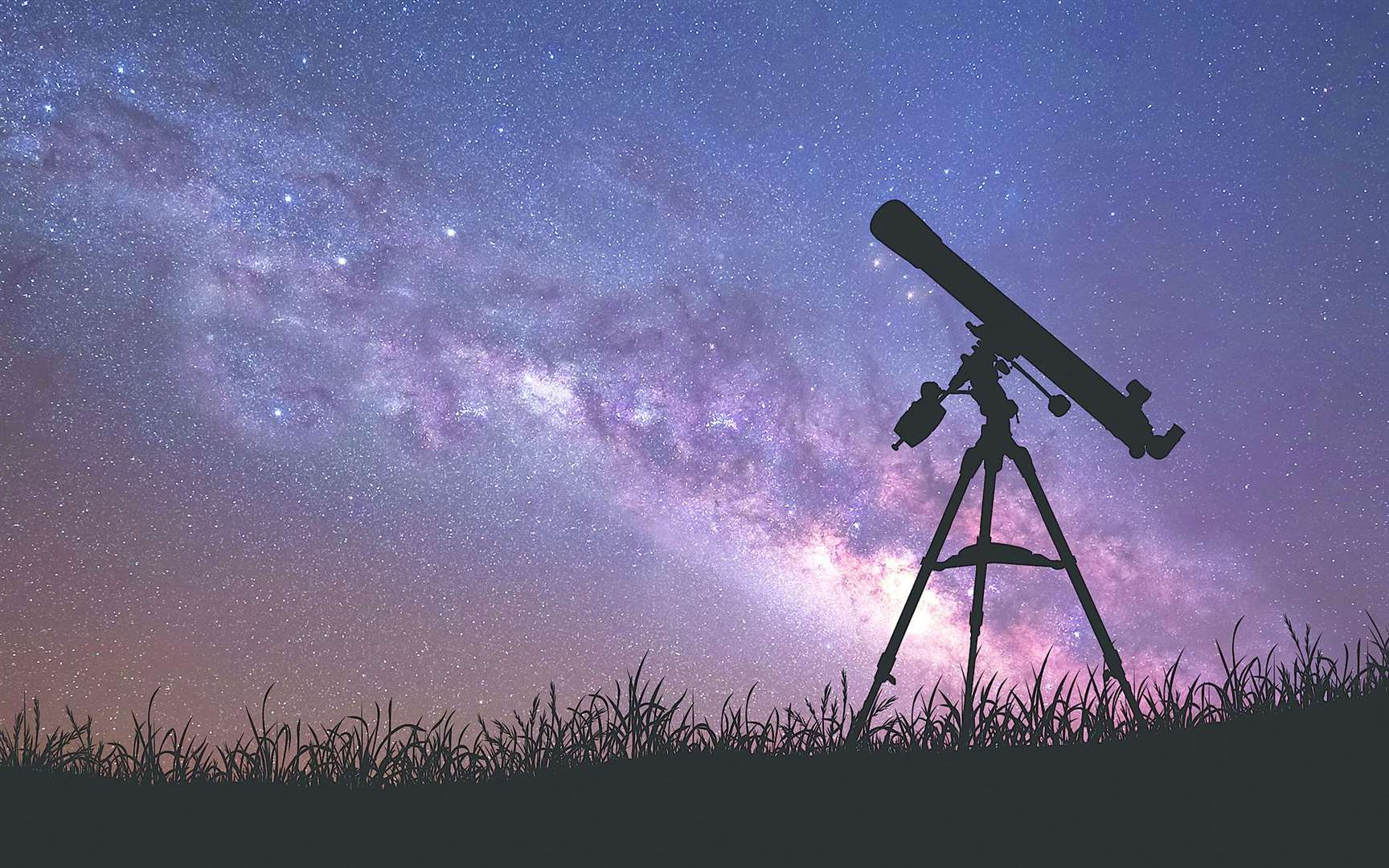 While telescopes and binoculars can help, if conditions are right you will be able to see the shower without them