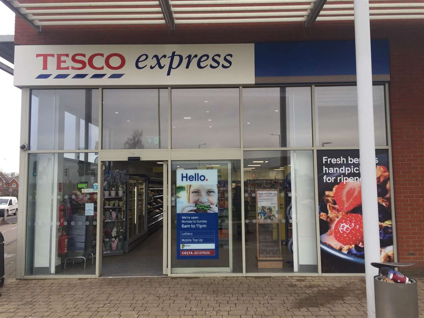 Tesco have explained that there is no need to panic as they have plenty of food