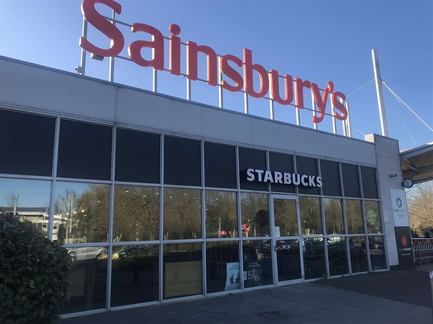 Sainsbury's says it is working hard to ensure customers can find what they need