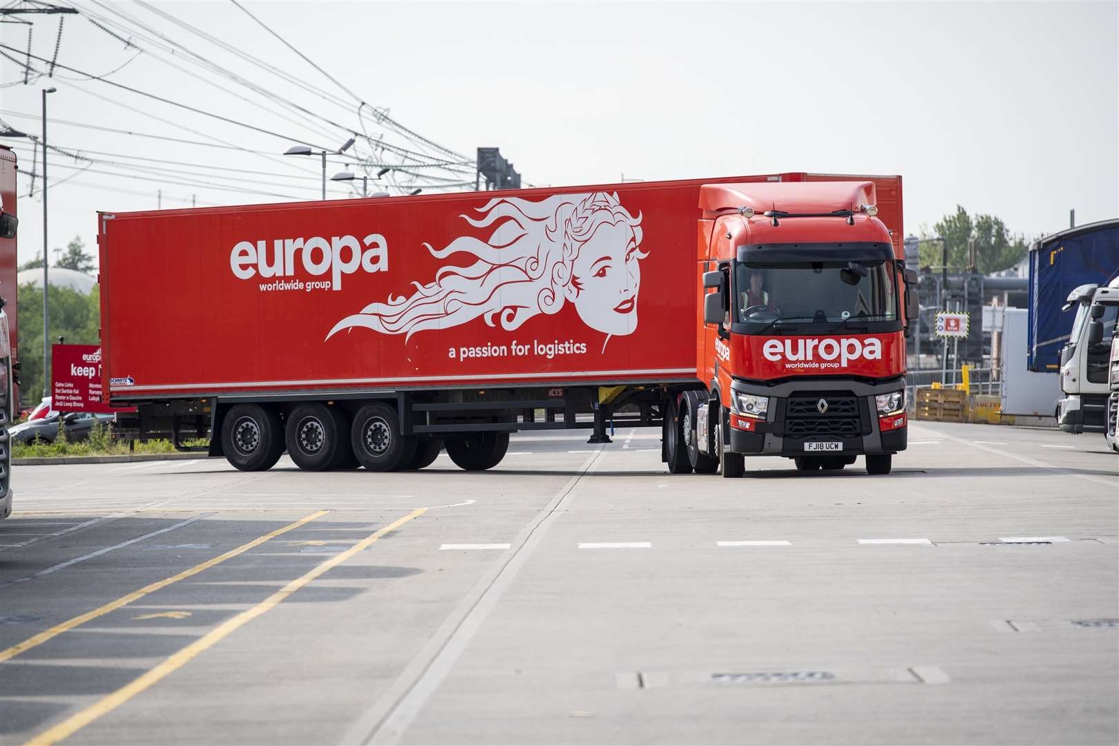 Kent firm Europa recently launched its own driving academy to help ease the crisis