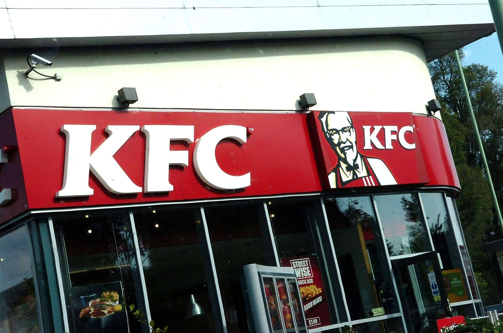 KFC is warning that some items from its menu may not be available for customers