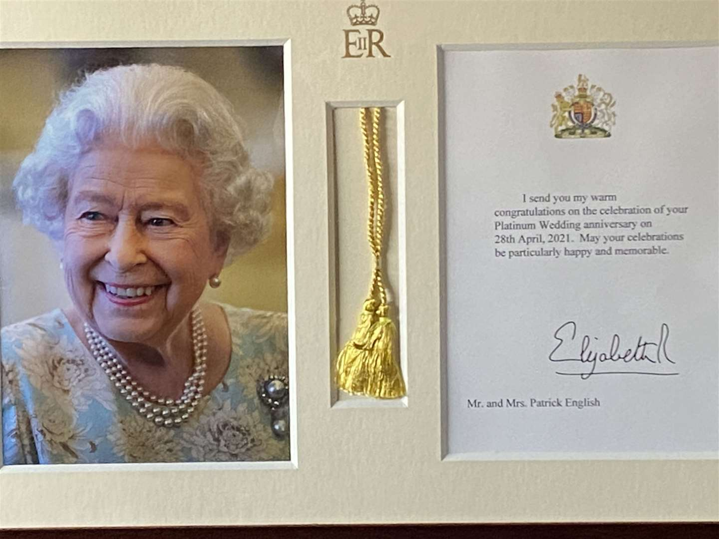 Message from The Queen (46682000)