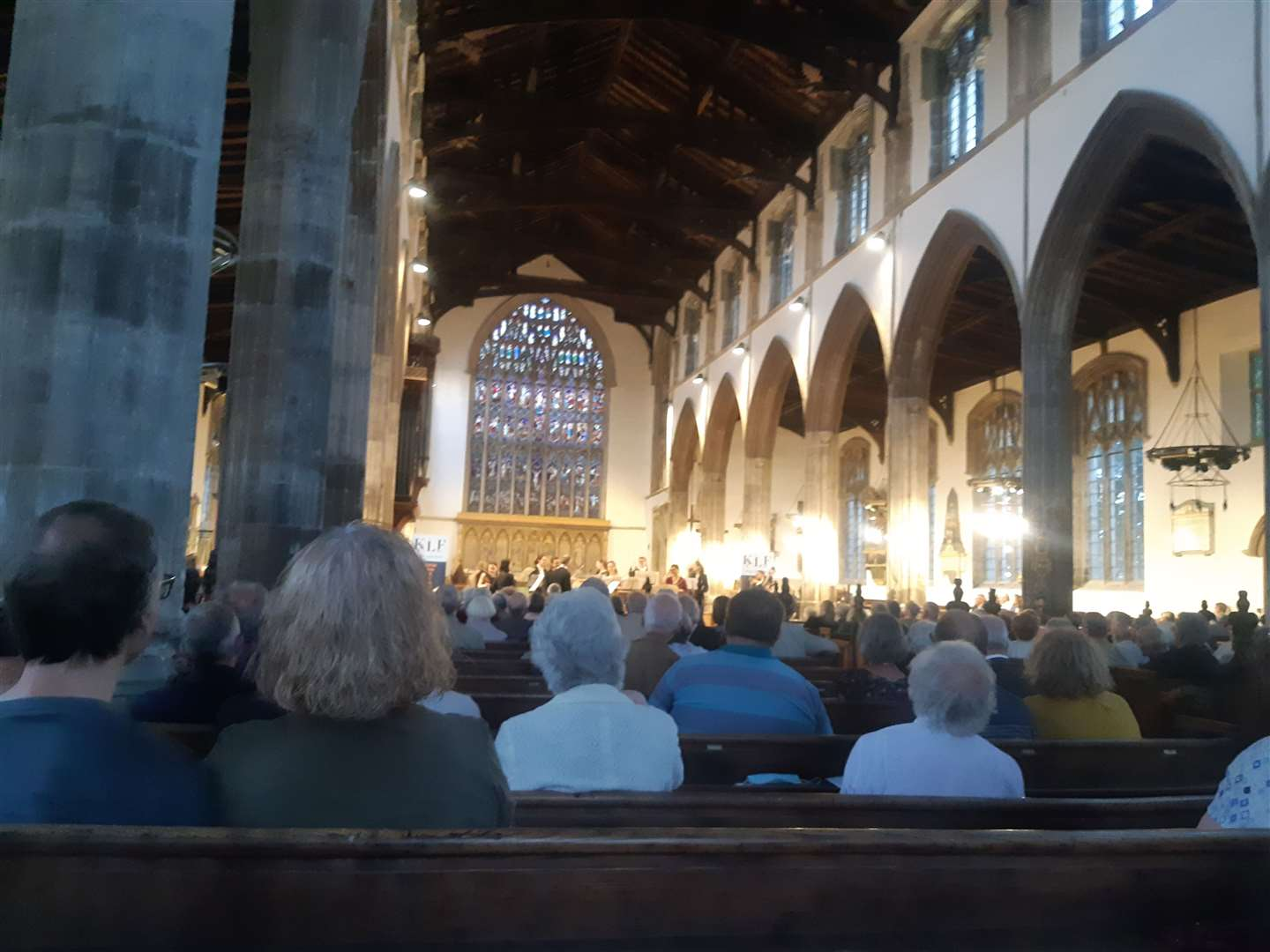 St Nicholas Chapel full for the King's Lynn Festival concert by the EU Chamber Orchestra, July 21, 2021. (49808904)