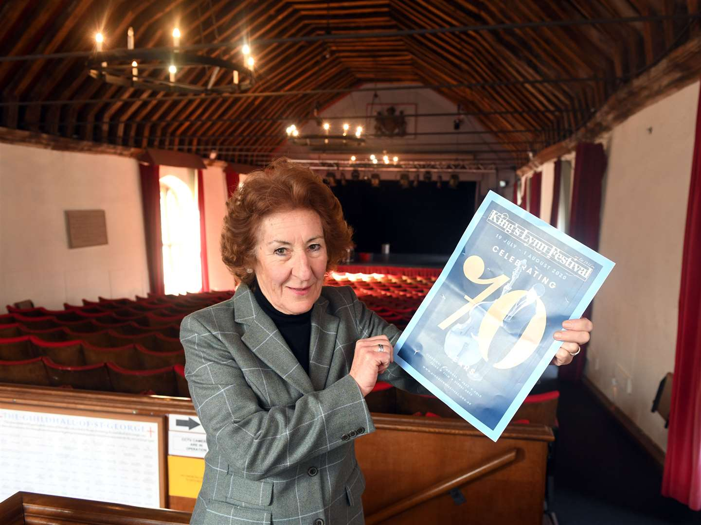 Alison Croose hopes the 70th King's Lynn Festival can go ahead this summer.