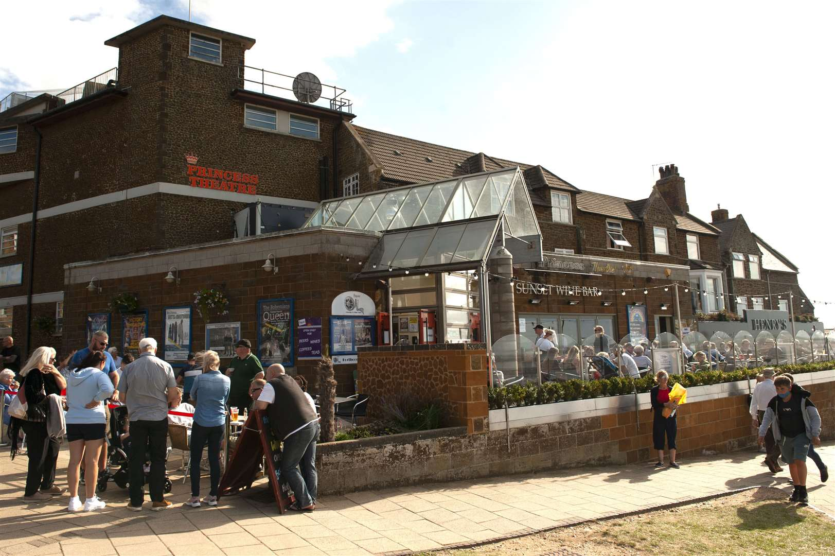 Hunstanton's Princess Theatre has benefited from the latest round of Culture Recovery grants.