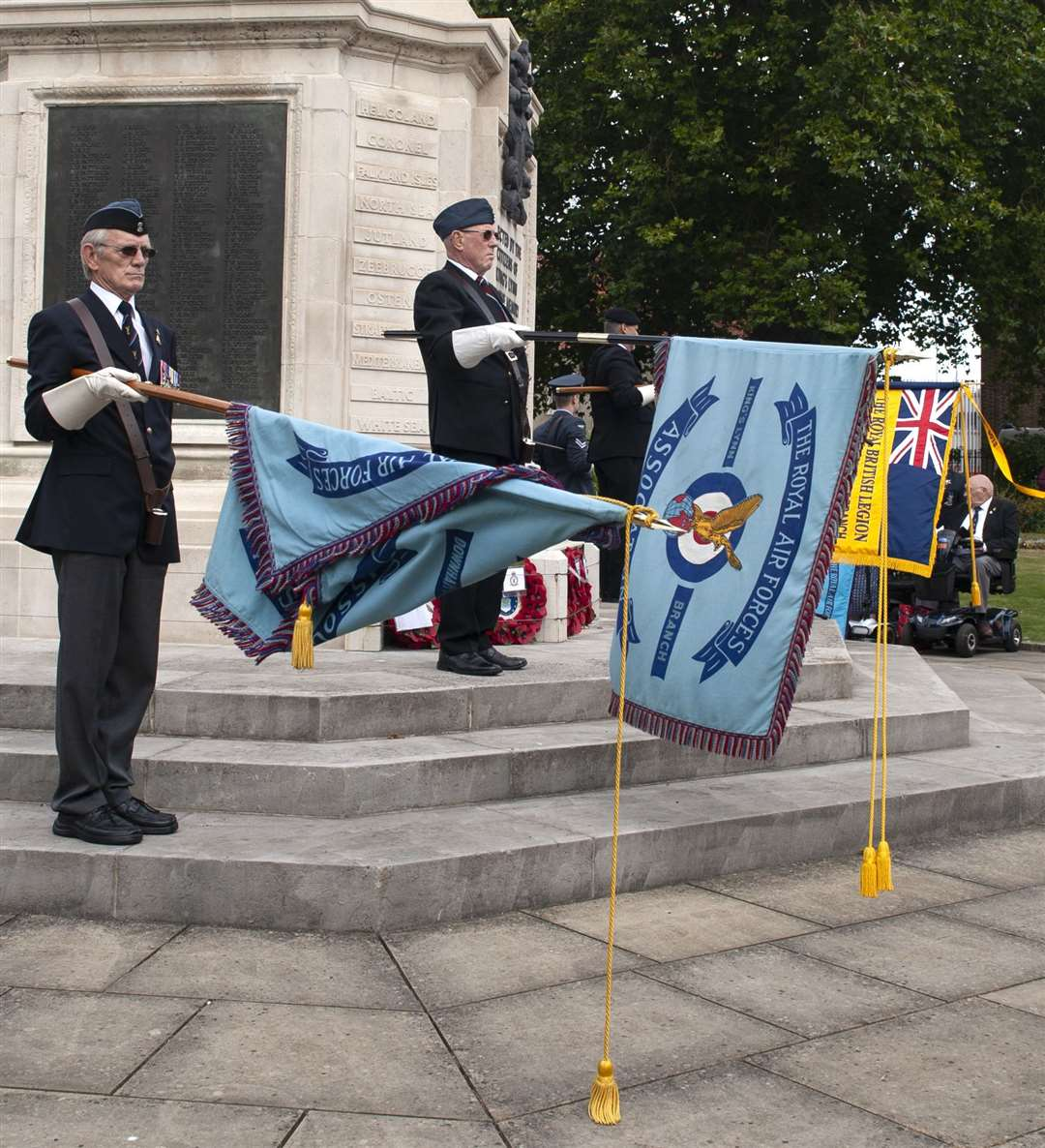 Royal Air Forces Association 81st Anniversary of the Battle Of Britain Service of Commemoration. at Tower Gardens King's Lynn.. (51174908)