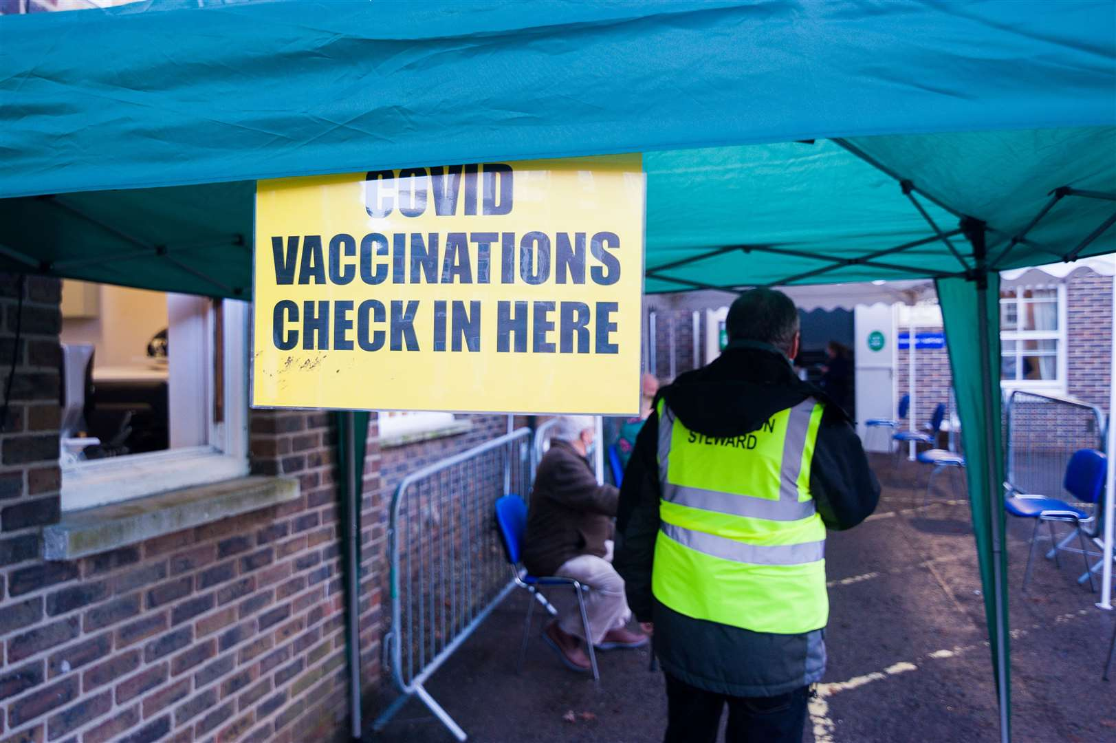 COVID-19 vaccinations have begun at the St James Medical Centre in King's Lynn.. (43575050)
