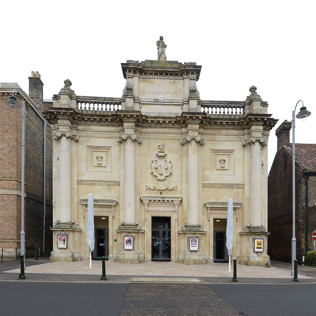 The King's Lynn Corn Exchange on the Tuesday Market Place.. (41724121)