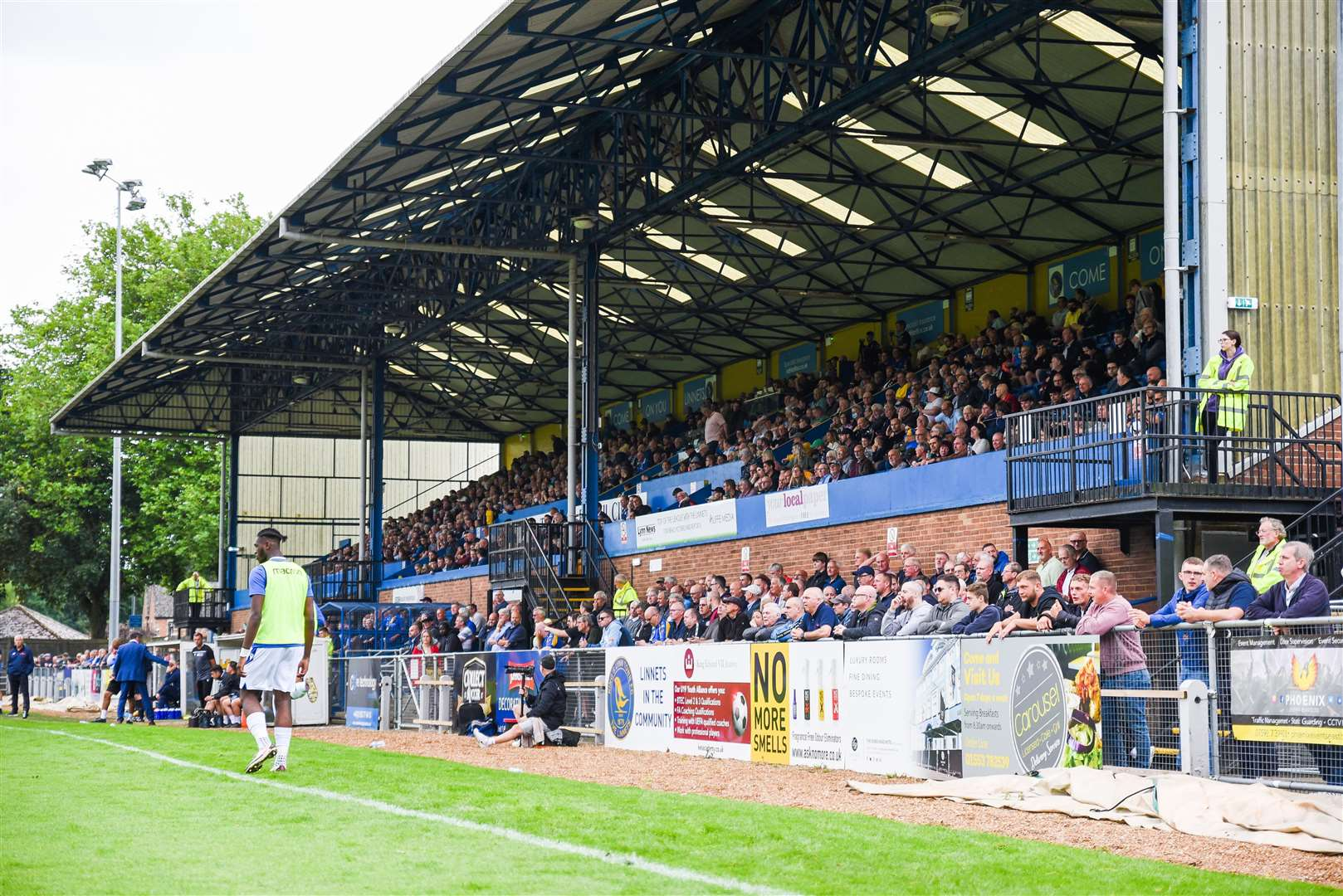 A large crowd was inside The walks to see Lynn take on Southend. (50455727)