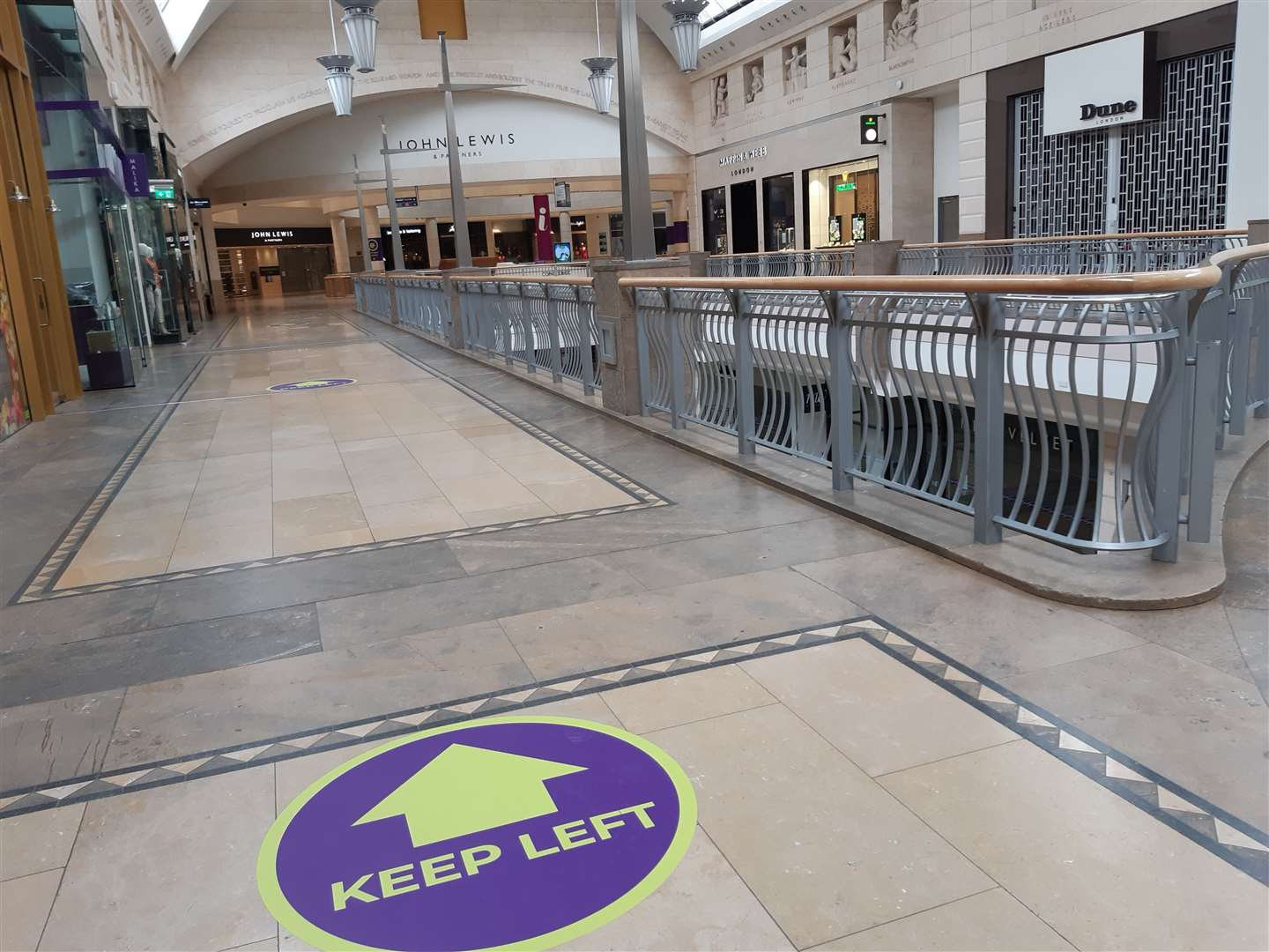 Shopping centres will hope the crowds flock back when stores reopen on April 12