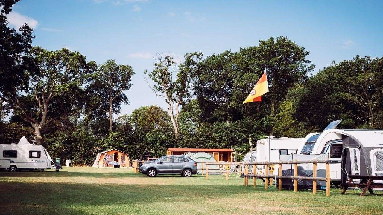 Some campsites will be reopening from Monday. Stock image