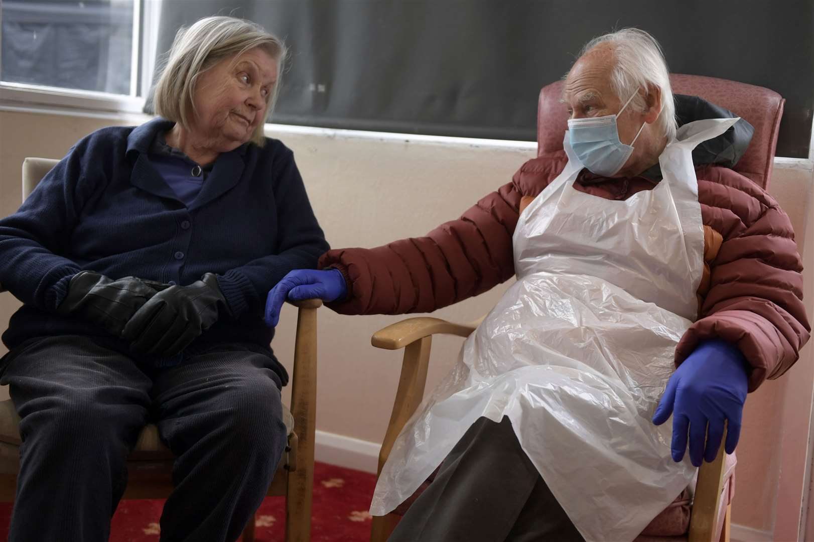 From Monday, two visitors per care home resident will be allowed. Picture: Barry Goodwin