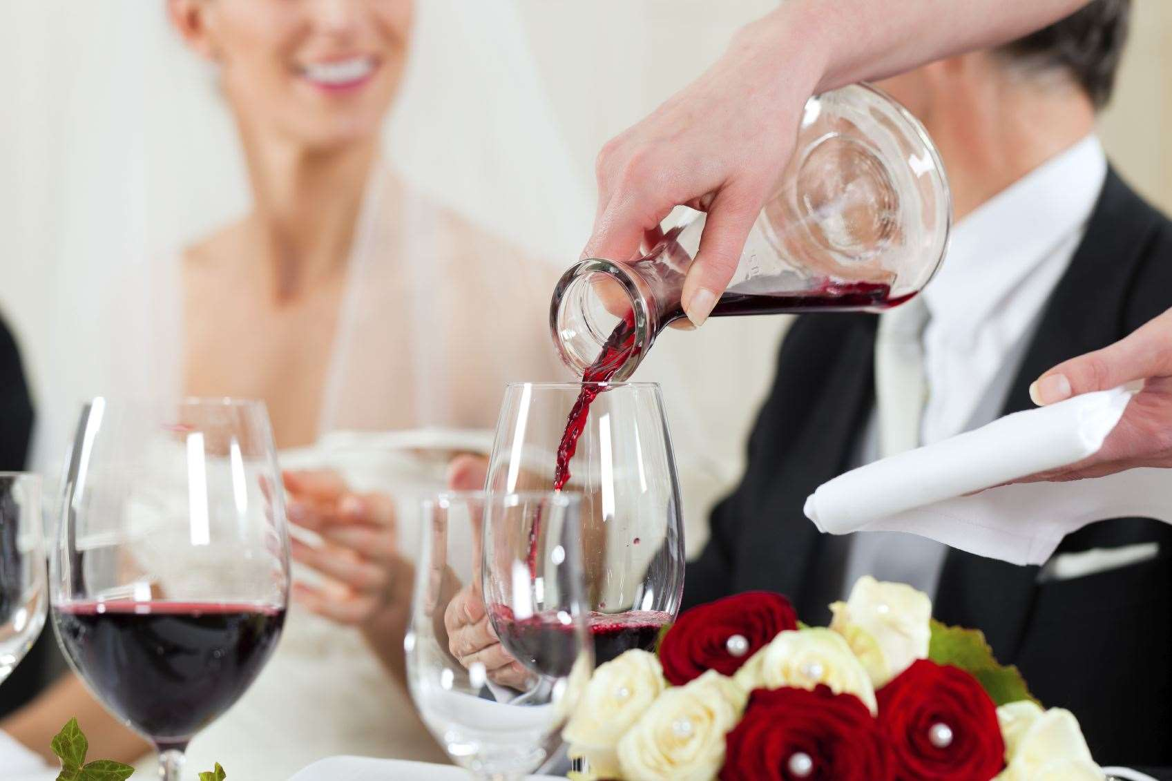 The number of people allowed at weddings will increase from six to 15 from Monday. Stock image