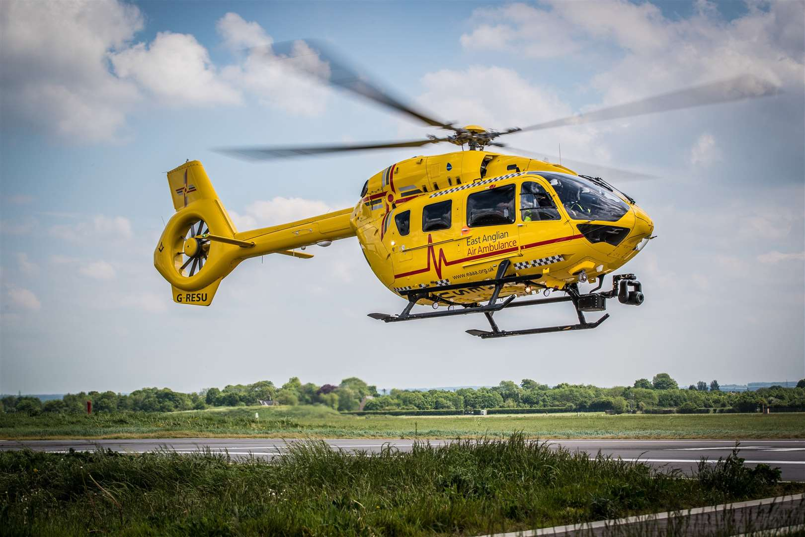 The East Anglian Air Ambulance helicopter in action. Picture: Perfect Pose Photography (44037715)