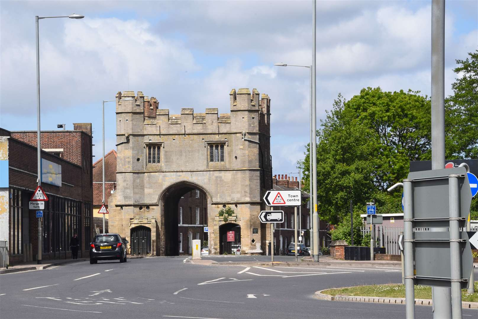 The South Gate in King's Lynn.. (41138208)