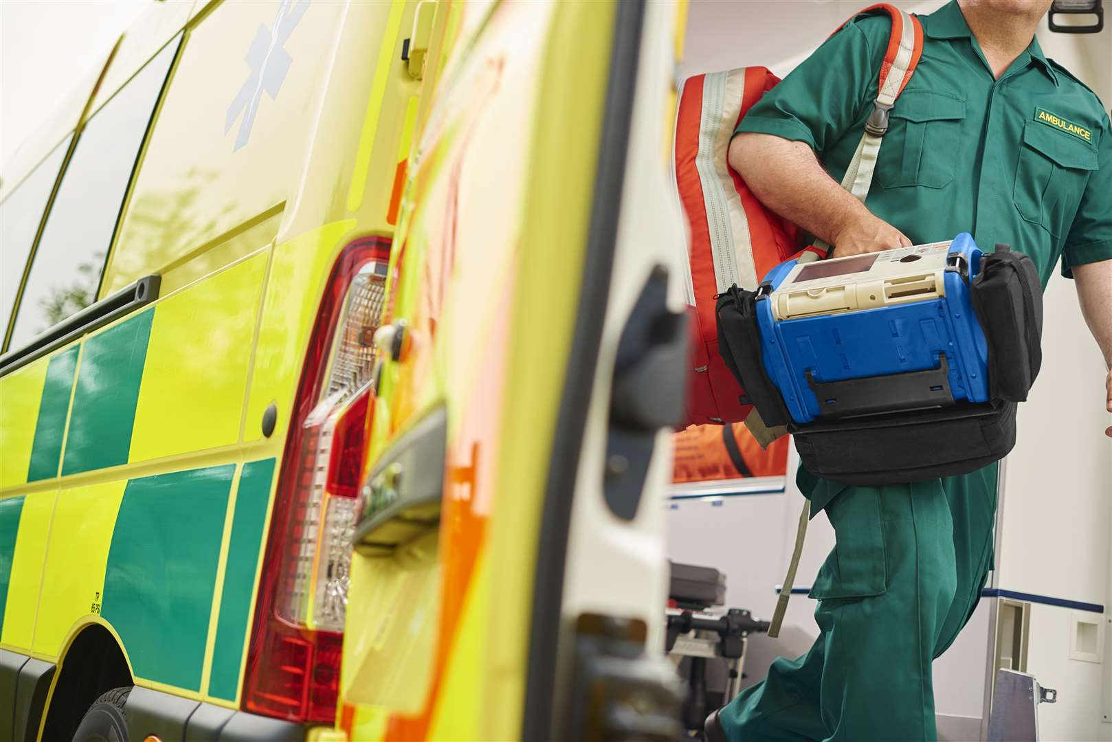 Emergency services were called to a medical episode on Hardwick Road in King's Lynn this afternoon (Thursday, November 12)