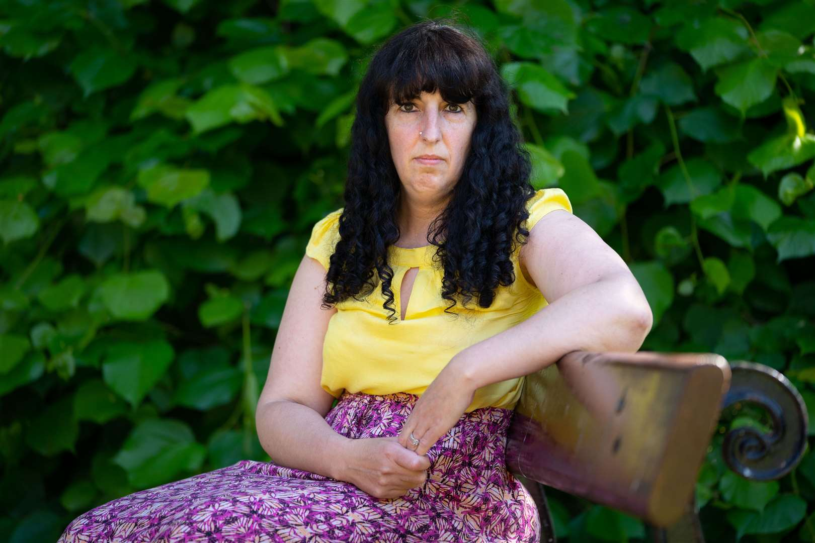 Sofia Gomes, 43, of Wisbech claims she has lost her voice hours after receiving her second AstraZeneca Covid injection