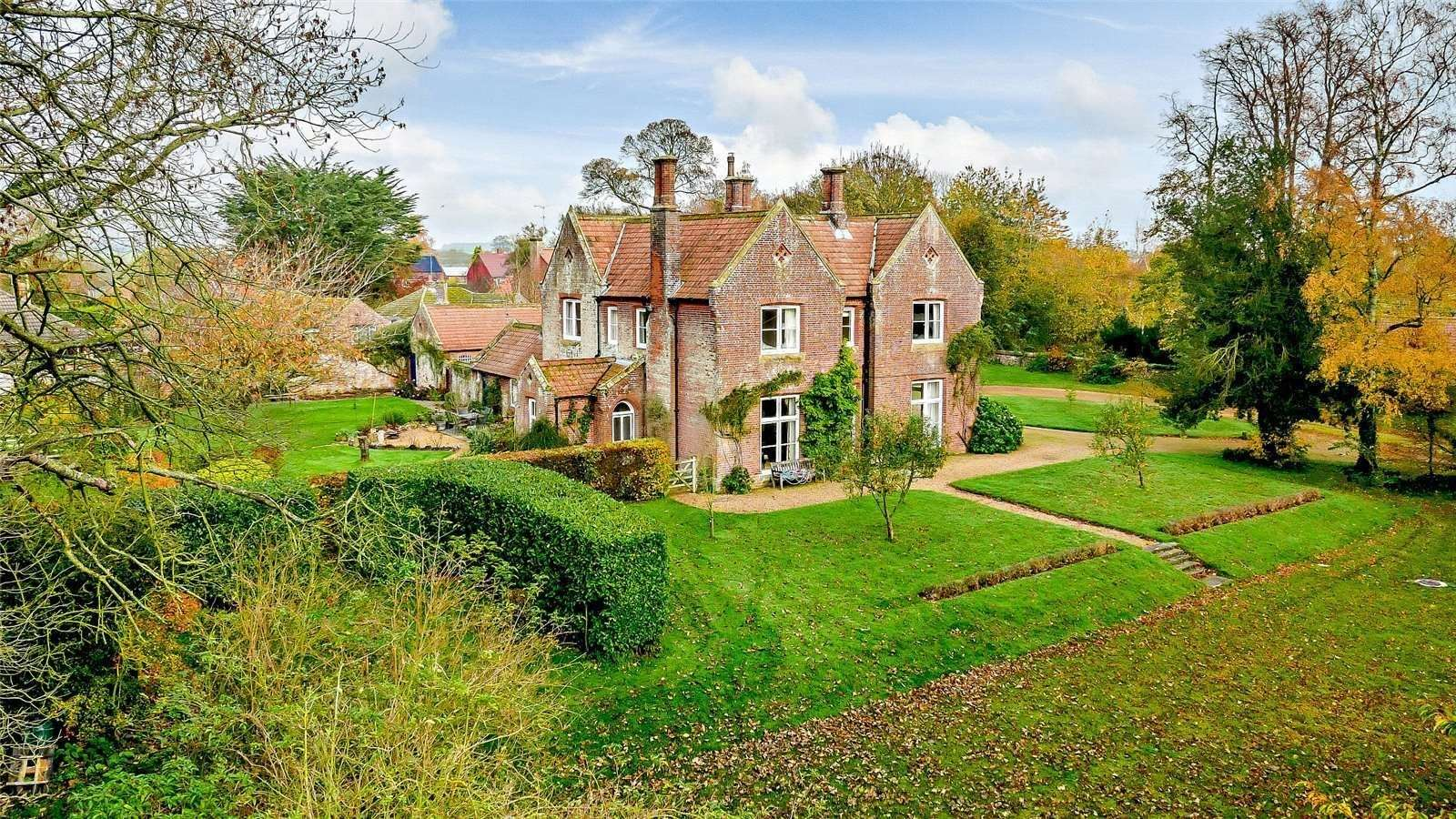 The Old Vicarage at Castle Acre is up for sale with the next Bishop of Lynn set to live in Dereham. Picture: Savills
