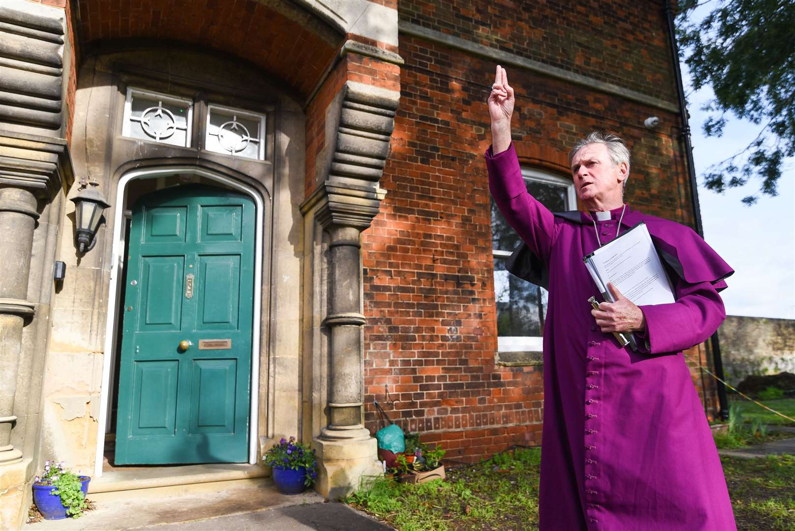 The new Night Shelter was blessed by the Bishop of Lynn, Rt Revd Jonathan Meyrick earlier this year